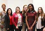 Six female Public health students standing for a photo
