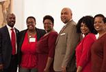 Individuals part of the Black Alumni Association.