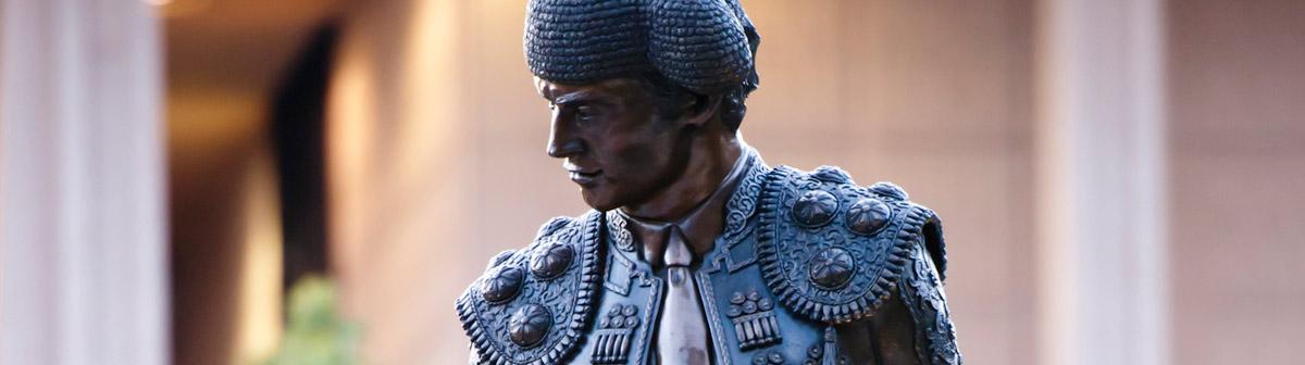 The Matador Statue.