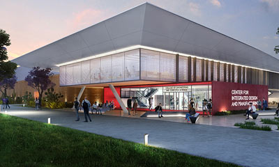 Rendition of the New Center