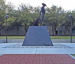 Madator Statue