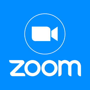 Zoom logo with camera icon at the top