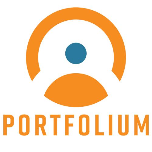 Portfolium logo