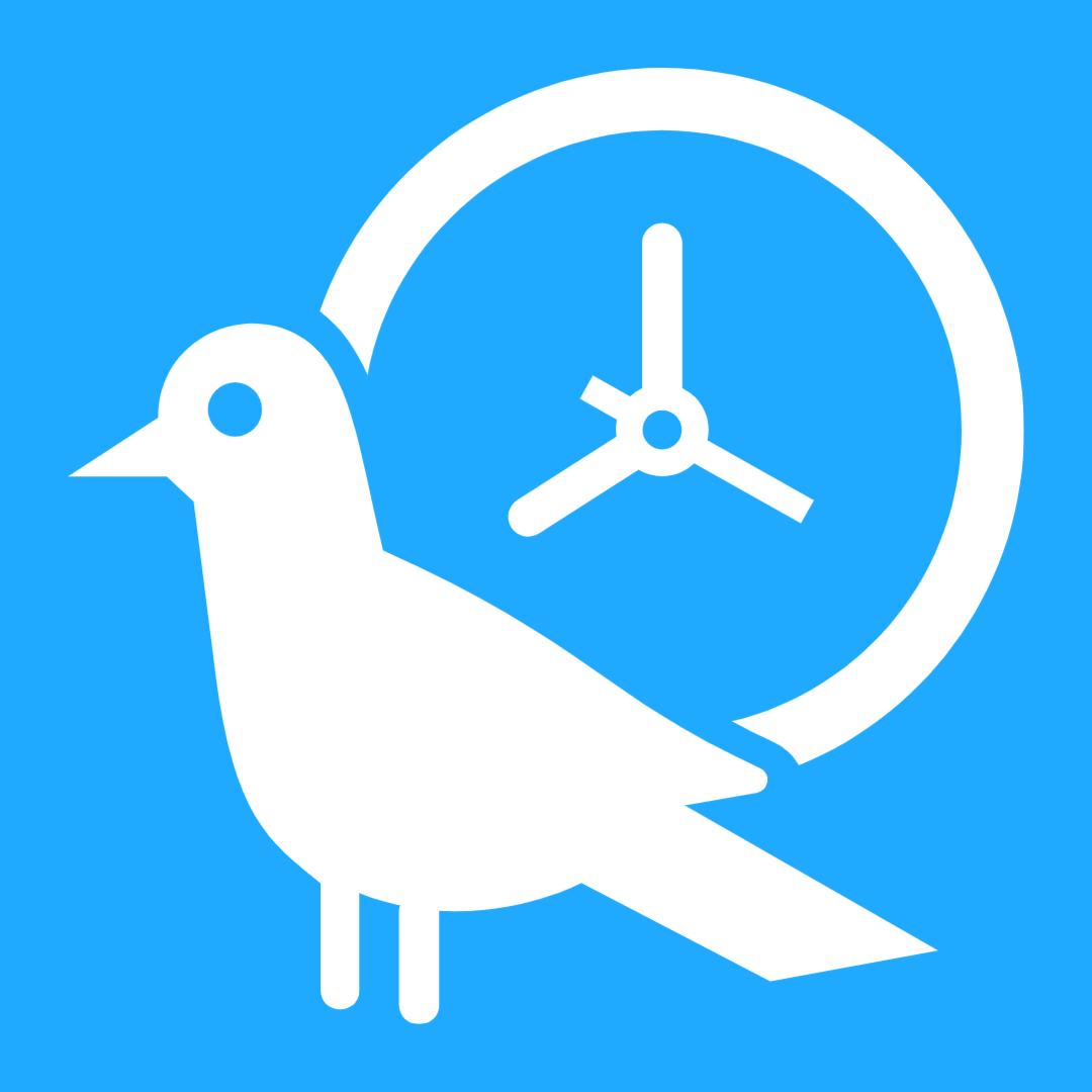icon of fuel gauge showing quarter tank left against blue background
